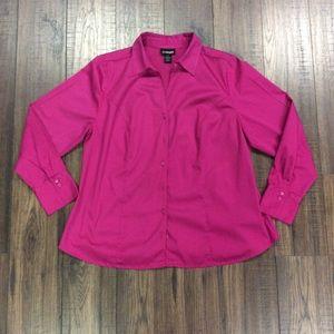 Pink Lane Bryant Shirt